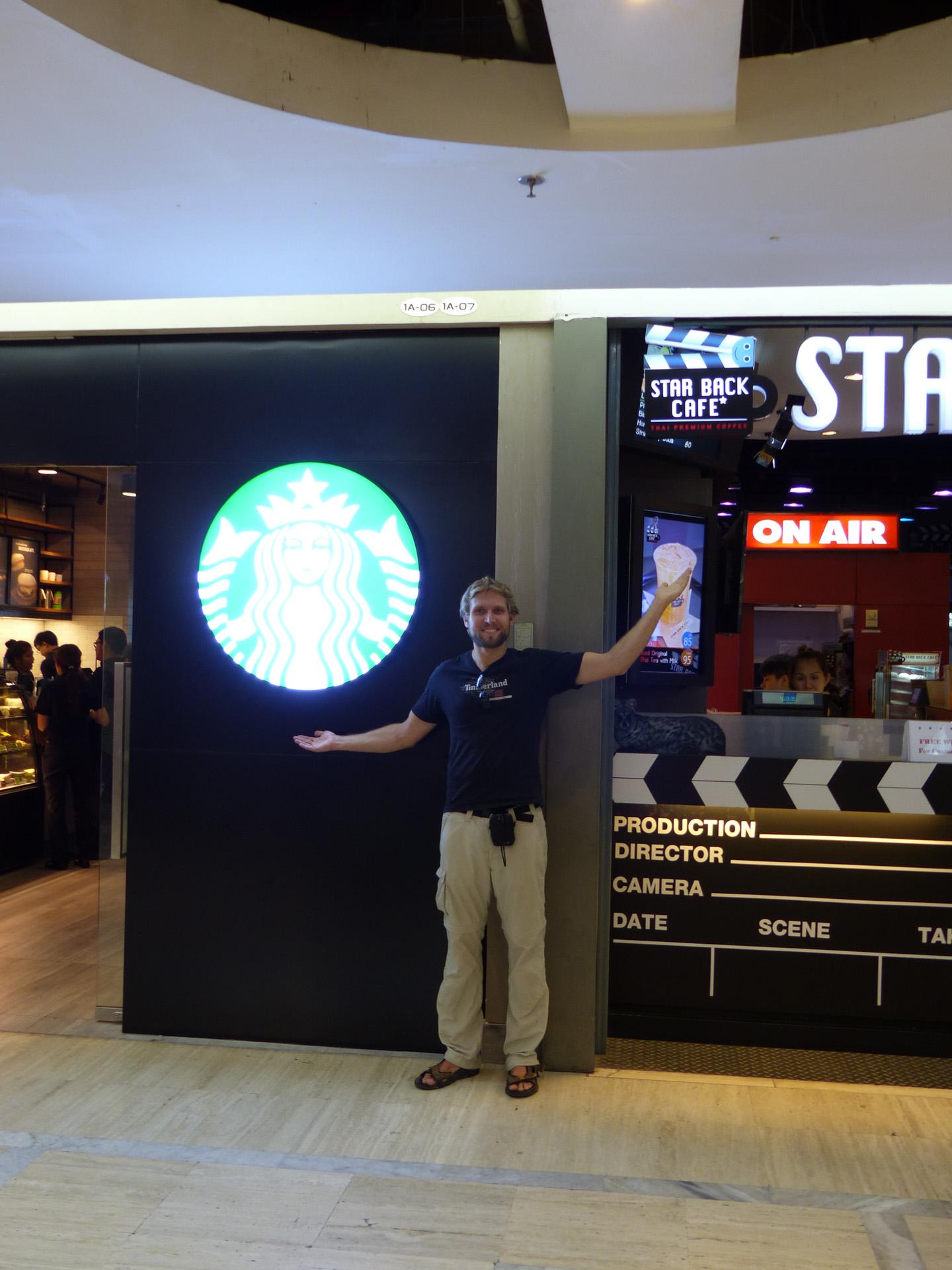 star bak cafe vs star bucks coffee - Flat Panel Cafe 2015